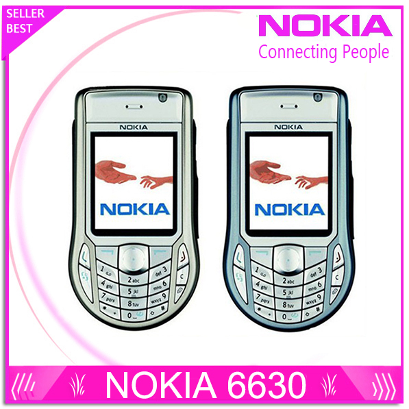 Original Nokia 6630 Unlocked mobile 3G phone One year warranty Free shipping