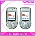 Original nokia 6630 desbloqueado 3g teléfono móvil una garantía del año envío gratis