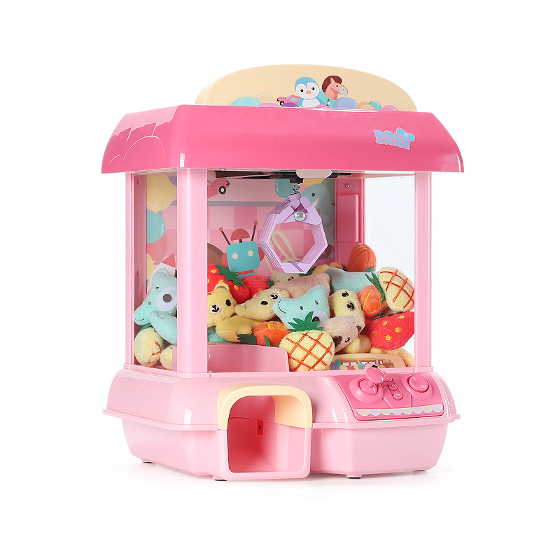 Rechargeable Electronic Catch DIY Doll Machine House Unicorn Doll 12 Mini Mick Music Doll  Stuffed Mnimals Baby Toys Dolls