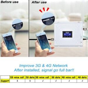 Image 5 - Lintratek 3G 4G 1800 2100 MHz טלפון סלולרי אותות בוסטרים DCS להקה 3 1800 WCDMA להקת 1 2100 כפול להקת משחזר LTE מגבר 45