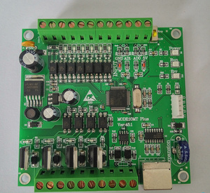 Image 2 - PLC Industrial Control Board FX1N FX2N 10MR 2AD analog direct download can even touch screen text FX1N 10MR FX2N 10MR