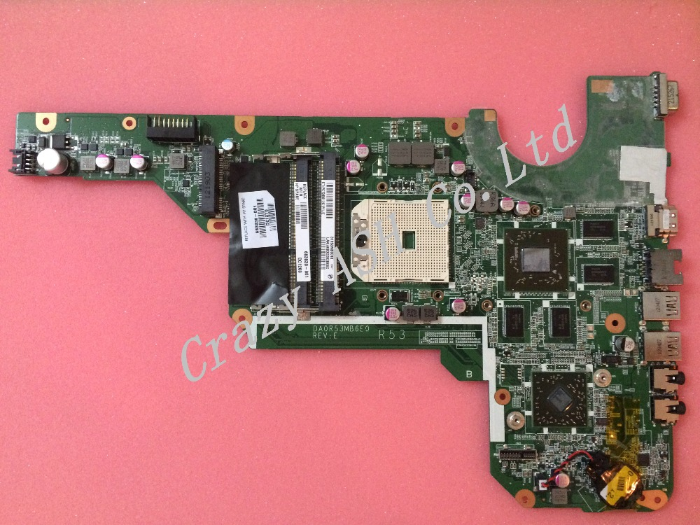For 683030-501 683030-001 laptop Motherboard For HP Pavilion G4 G6 G7 DA0R53MB6E1 REVE R53 Notebook Mainboard