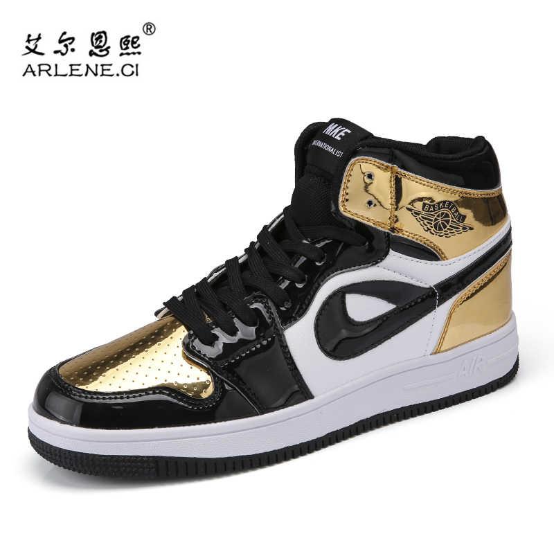 f68f2ac028de Plus Size 38-46 Original New Arrival Men Jordan Basketball Shoes AJ1  Outdoor Athletic Sport