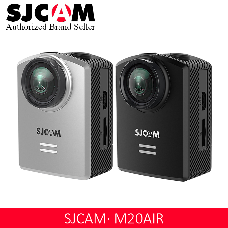 New SJCAM M20 Air Action Camera Waterproof Sports DV 1080P NTK96658 12MP Mini Helmet Video Camera