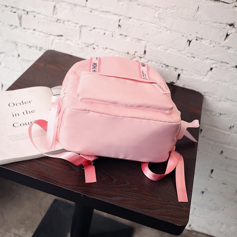 Menghuo Large Capacity Backpack Women Preppy School Bags For Teenagers Female Nylon Travel Bags Girls Bowknot Backpack Mochilas (37)