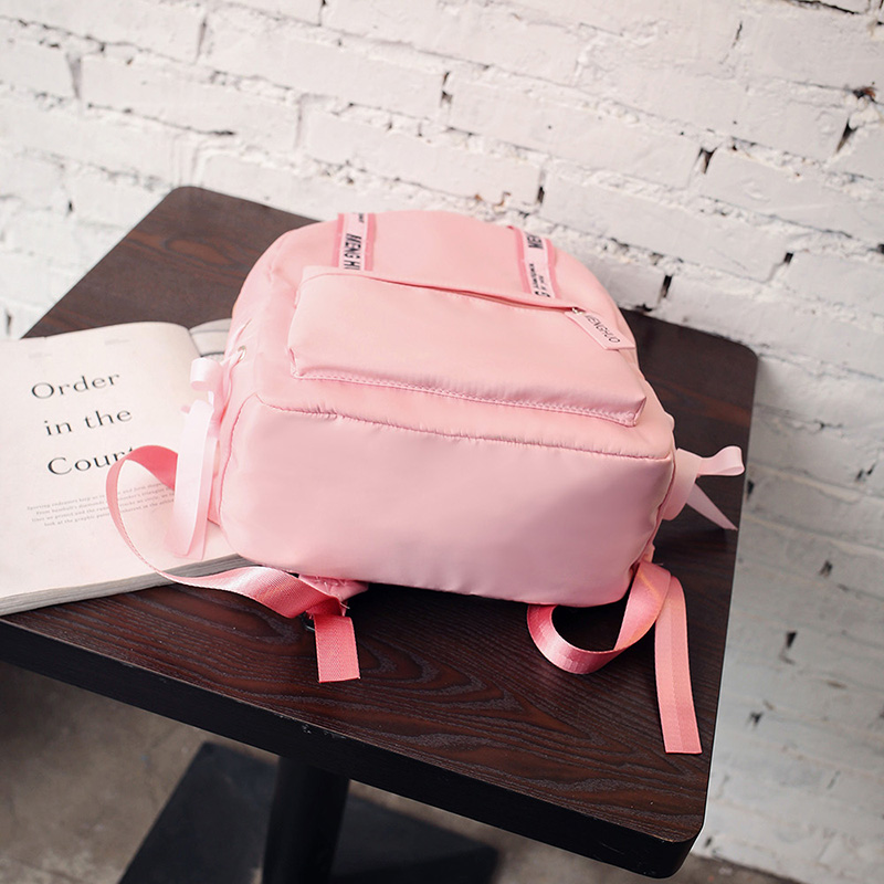 Menghuo Large Capacity Backpack Women Preppy School Bags For Teenagers Female Nylon Travel Bags Girls Bowknot Backpack Mochilas (37)