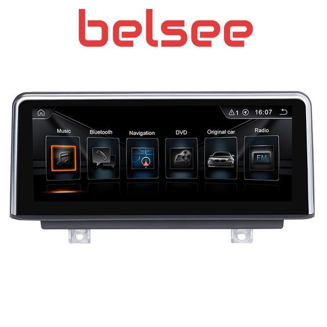 """Belsee 10,25 """"Android 8,1 сенсорный экран головное устройство автомобиля Радио стерео для BMW 3 серии F30 F31 F34 4 серии F32 F33 F36 2013-2016"""
