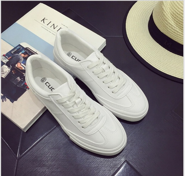 Spring Summer joker white shoe lady wind leisure canvas shoes with flat  student single shoes