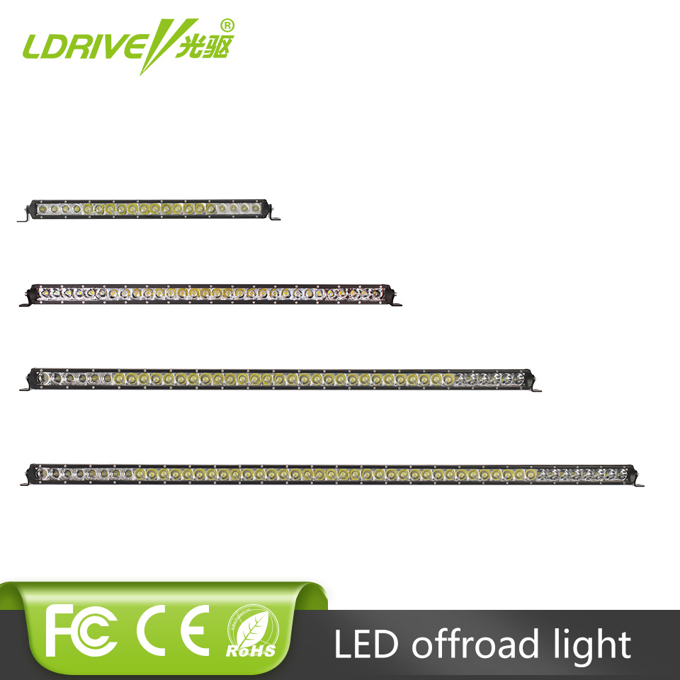 LDRIVE Single Row Off Road 100W 150W 200W 250W LED Light Bar 23'' 31'' 43'' 50'' SUV ATV Boat Car Driving Headlight DRL 12V 24V видеоигра бука saints row iv re elected