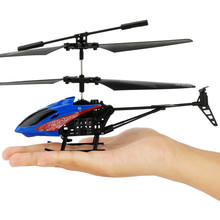 Hiinst Mini Remote Control Helicopter RC Drone With Crash Resistant RC