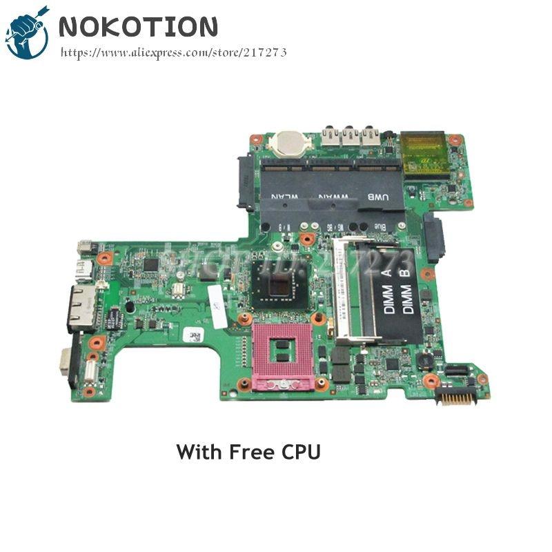 NOKOTION Laptop Motherboard For Dell Inspiron 1525 MAIN BOARD 965GM DDR2 Free CPU CN-0M353G 0M353G 48.4W002.031 cn 0ptnpf 0ptnpf ptnpf main board for dell inspiron 3421 5421 laptop motherboard 1017u cpu ddr3