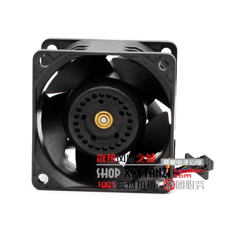 Купить с кэшбэком new Delta 6038 PFR0612XHE DC 12V 3.30A ultra violent strong air flow high speed axial fan
