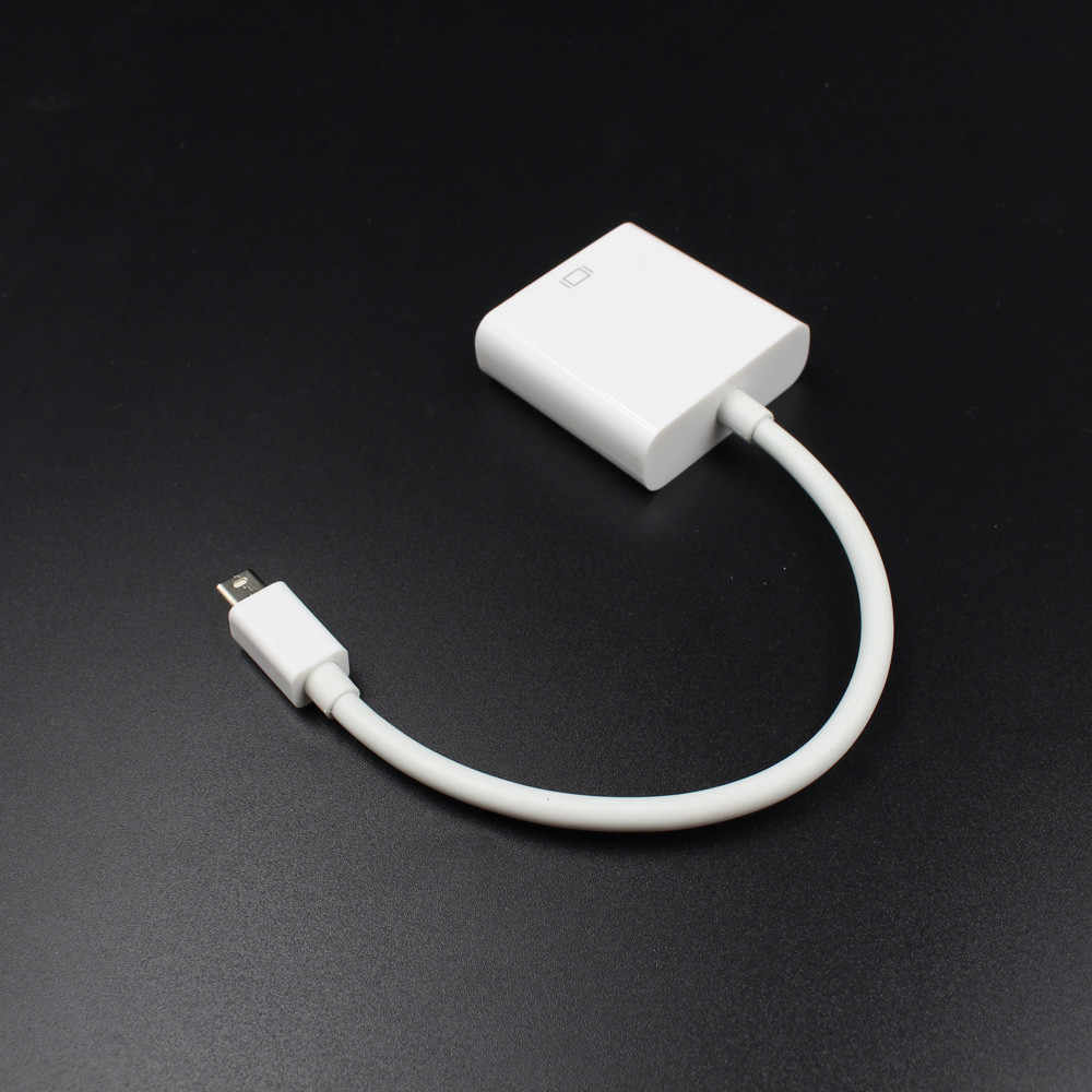 Для MacBook Air Pro iMac Mac Mini Thunderbolt Mini display port Mini DP To VGA кабель адаптер 1080P 2019 Новинка 5,18