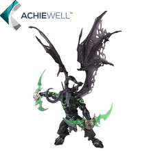 Wow DC5 Demon Hunter illidan Stormrage 33cm PVC Action Figure Cool Model Game Player Collection Plastic Toys For Adult Gift Doll