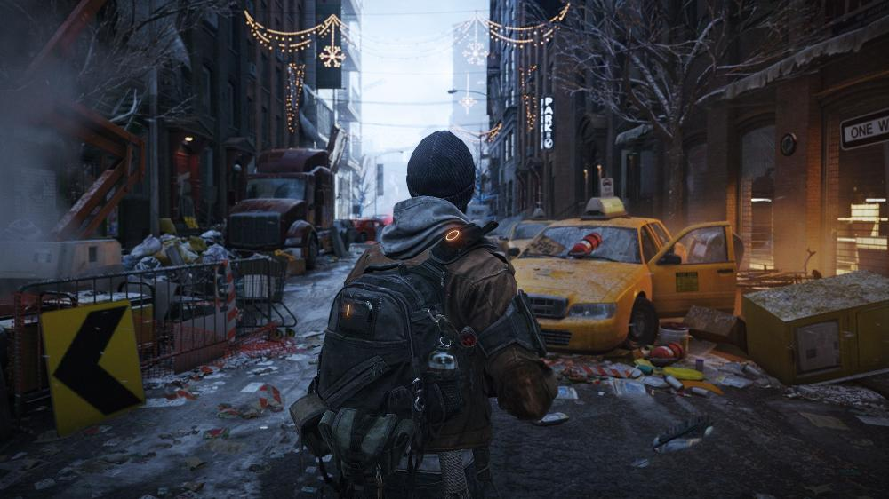 Living room home wall decoration fabric poster video games Tom Clancys The Division