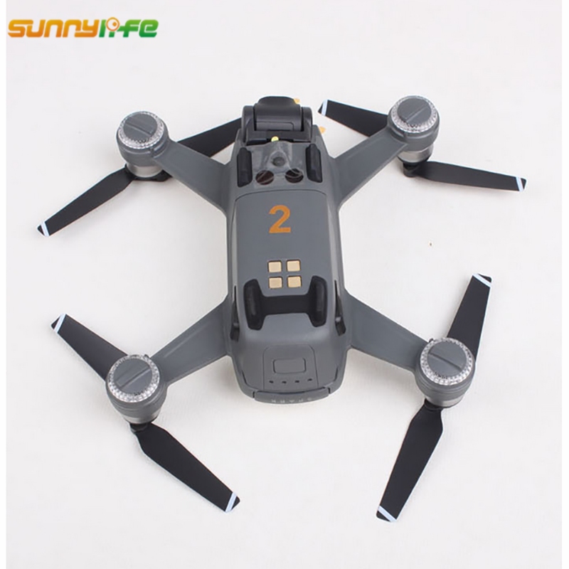 Sunnylife Mavic Air Accessories Spark Sticker Drone Body Shell Decals Skin Mavic Pro Shark Sticker Platinum Aircraft Paster  5
