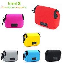 Câmera digital caso capa saco para sony rx100 mark iv v iv iii ii 6 5 4 3 2 h x 99 h x 95 h x 90 v hx90 hx80 fujifilm xp130 xp120