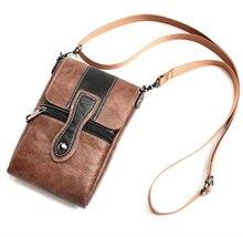 Holster Man Shoulder Belt Clip Mobile Phone Leather Case For Sony Xperia XZ1/XA1 Plus/XZ Premium/XZ/Z5 Premium/Z5 Ultra/Z5 PLUS