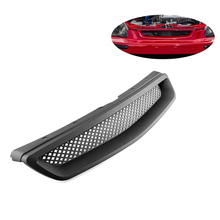 Решетка решетки автомобиля для 96-98 HONDA CIVIC EK CX DX EX HX LX передний капот T-R ABS