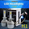 TAITIAN H1 H4/9003/HB2 H7 H11 H9 H8 144W 15200LM 6000K LED Headlights Car Fog Driving Upgraded Globe Bulbs