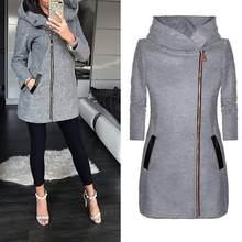 000b0adb Popularne Long Loose Fabric Jacket Women- kupuj tanie Long Loose ...