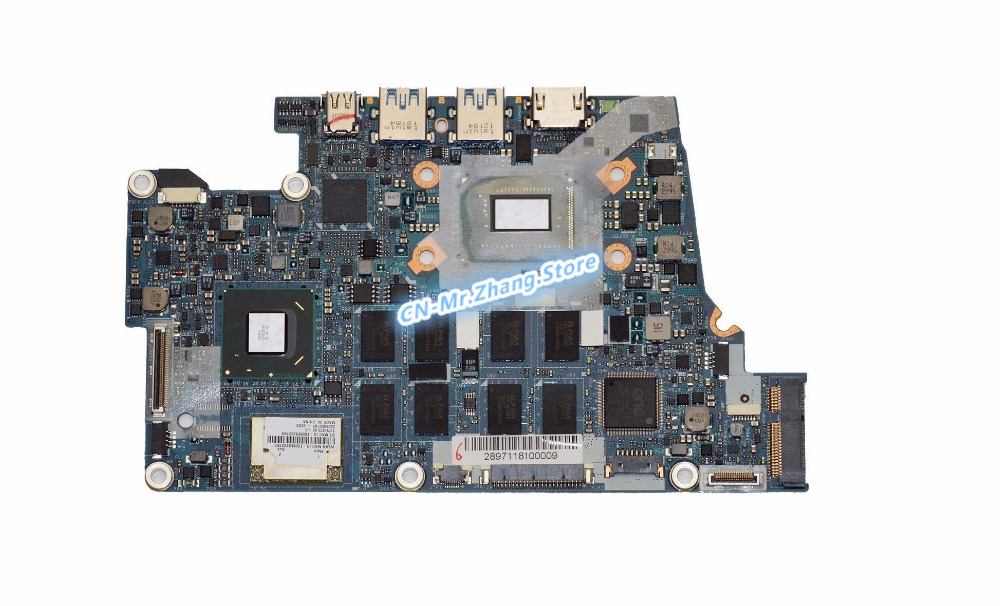 SHELI FOR font b Acer b font Aspire S5 391 Laptop Motherboard W I7 3517U CPU