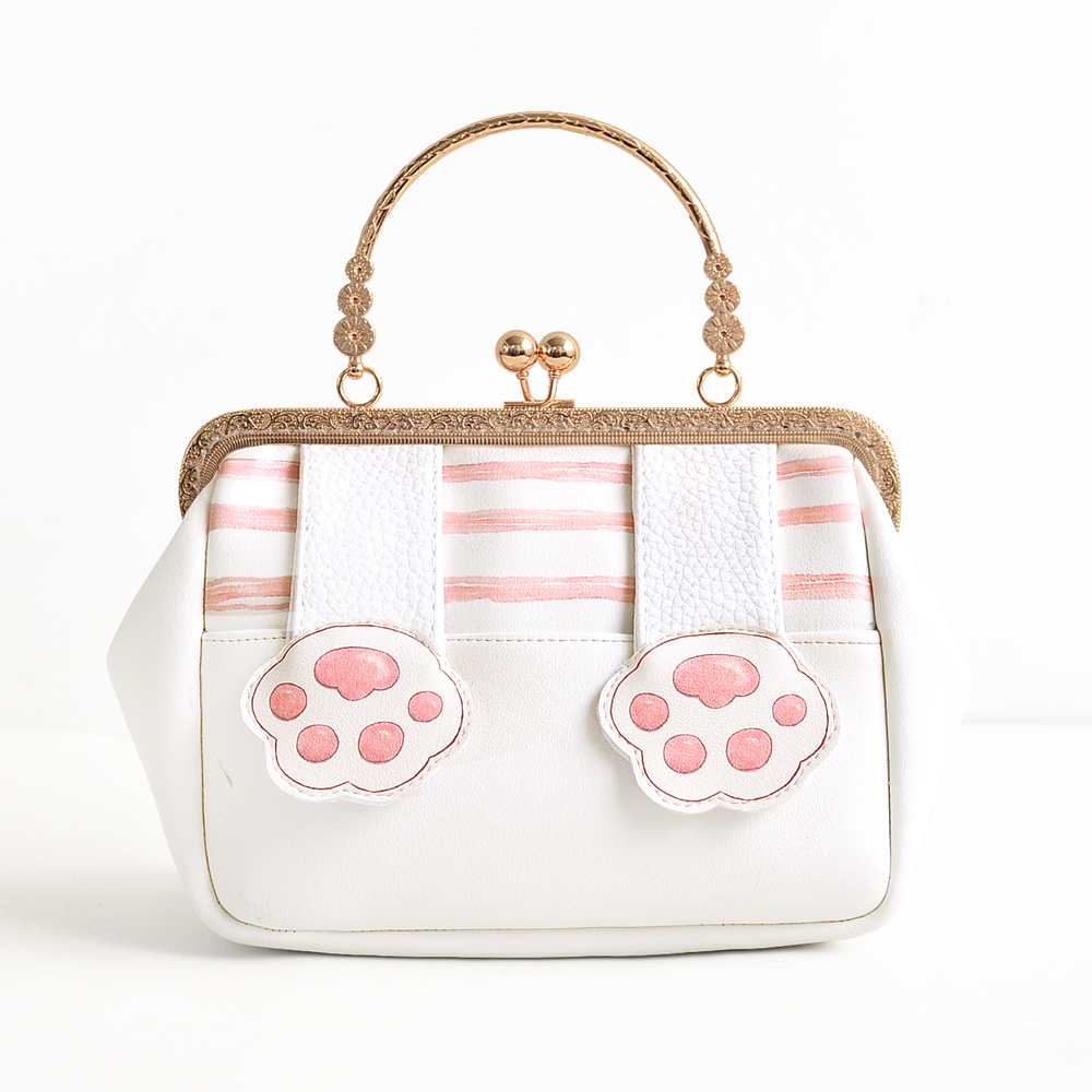 Princess sweet lolita bag Original small square bag cute little sprouting kitten mouth gold bag female handbag adorable CC077 цена