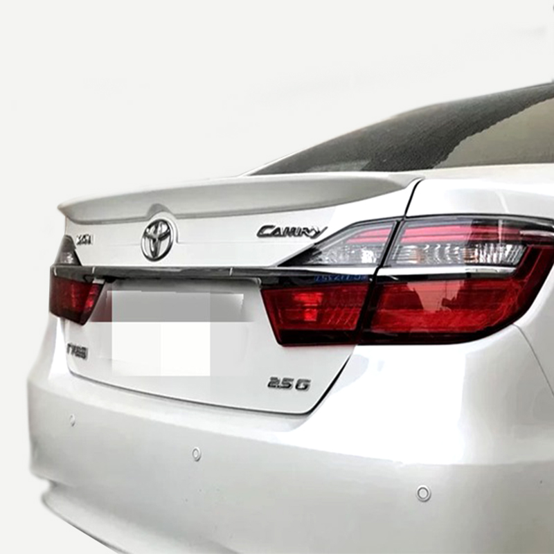 new For toyota camry 2011 2012 2013 2014 2015 2016 2017 High hardness and quality ABS rear trunk wing spoiler primer paint DIY