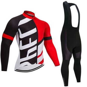 2018 DA EQUIPE Pro CAMISA de Ciclismo Calças de Bicicleta definir mens jaqueta Ropa ciclismo verão Bicicleta desgaste Longo Ciclismo uniforme Maillot Culotte