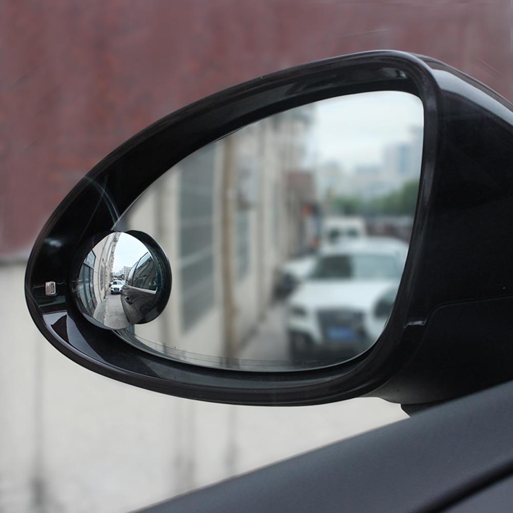 Hot Sale Helpful Car mirror Wide Angle Round Convex Blind Spot mirror for parking Rear view mirror Rain Shade Auto Accessories