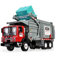 KDW 1:24 сплав Материал транспортер модель грузового автомобиля игрушечные лошадки для детей обувь мальчиков Автомобили подарок на Новый год