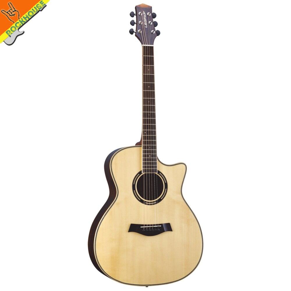 new legpap arm heel solid spruce acoustic guitar 41inch acoustic guitar folk guitar grand auditorium body walnut plywood back ch177 natural side chair walnut ash