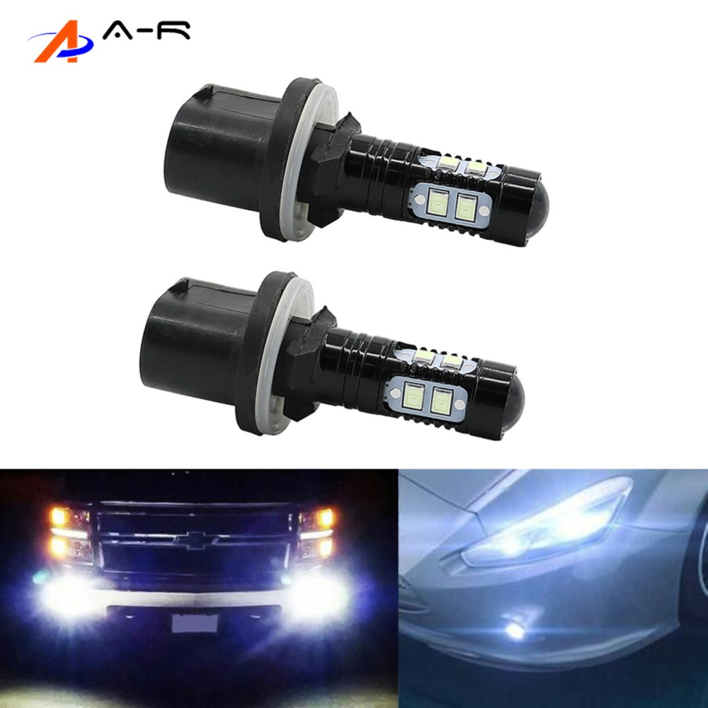 Chrysler Sebring 8SMD LED Error Free Canbus Side Light Beam Bulbs Pair Upgrade