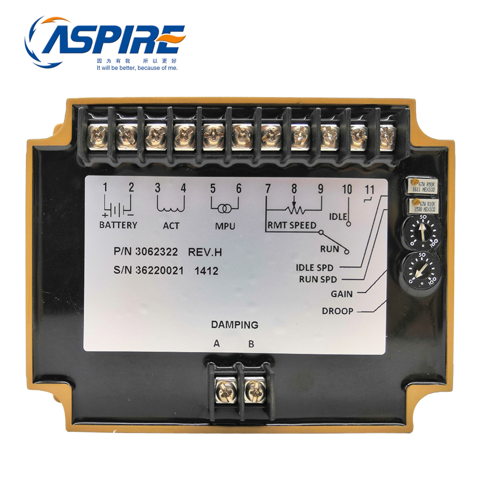 Electronic Governor Speed Control Unit 3062322 for Generator Part KTAA19-G6AElectronic Governor Speed Control Unit 3062322 for Generator Part KTAA19-G6A
