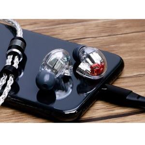 Image 4 - 2019 New SE846 DIY 5BA Drive In Ear Earphone Each Side 5 Balanced Armature Detachable Detach MMCX Cable HIFI Monitoring Earphone