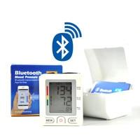 Bluetooth 4.0 Wrist digital lcd blood pressure monitor portable Tonometer Meter blood pressure meter for iOS device