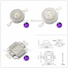 High Pow UV Purple LED integrated chip 365Nm 375Nm 385Nm 395Nm 405Nm 410Nm 420N COB Ultraviolet Lights 3/5/10/20/30/50/100 Watt 20w led light bulb lamp uv ultraviolet 370nm 30 34v 600ma high power 20 w watt purple ultra violet chip integrated 20watt cob