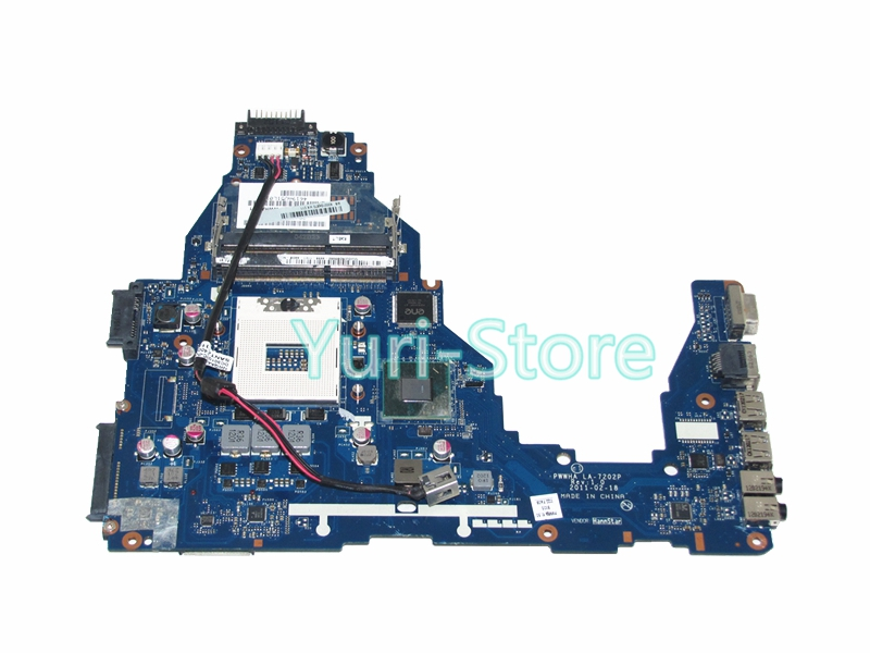 NOKOTION For Toshiba Satellite C660 K000124370 LA-7202P Laptop Motherboard HM65 DDR3 GMA HD3000 c660 integrated ddr3 for toshiba satellite c660 laptop motherboard k000128540 la 6849p full test