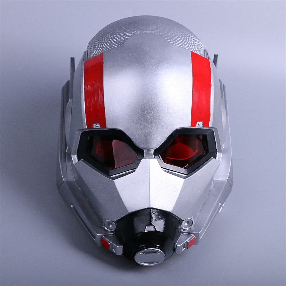 2018 Ant Man LED Helmet Cosplay Ant-Man and The Wasp Scott LED Helmet Mask Props Halloween Party Prop 1