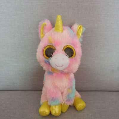 6a6f5517076 ... Ty Beanie Boos 6   15cm Potion Black Cat Unicorn Owl Dinosaur Plush  Regular Soft ...