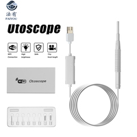 Endoscope Camera Mini Visual Ear Spoon Endoscope Soft Cable Inspection Cam 3.9mm 1.5M USB Borescope Android Type c