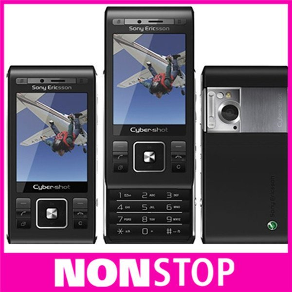 Original Sony c905 cell phones 3G WIFI GPS Quan-band bluetooth 8mp wholesale one year warranty