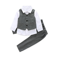 Formal Clothing Sets For Baby Boys Party Wedding Clothes Suits Spring Newborn Gentleman Baby Boy Outerwear