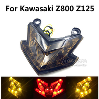 LED Motorcycle Brake Tail Light Motorbike Brake TailLights Rear Lamp Integrated Moto Turn Signal Light For
