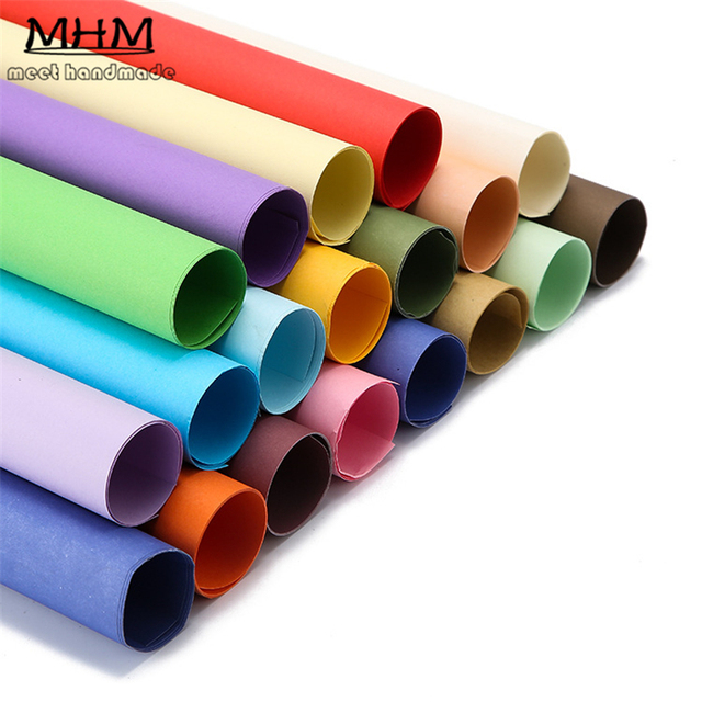 Top Quality 50 70 Cm Sided Color Kraft Scrapbook Paper Cardboard
