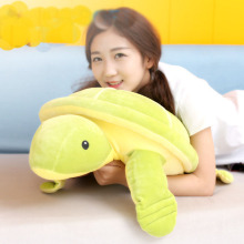 35-65cm Big Size Toys soft goat Tortoise Plush Toys Baby Sleep Pillow Cushion Turtle Cloth Doll