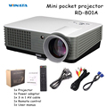 Portable Mini Projector 2000 Lumens 3D Projector HDMI Home Theater beamer multimedia projector Full HD 1080p Beamer