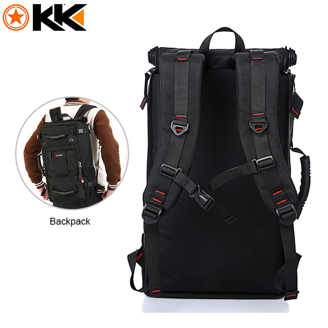 40L Large Capacity Polyester Waterproof Backpack 2