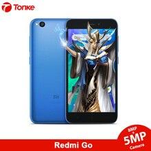 Küresel Sürüm Xiaomi Cep Telefonu Redmi Gitmek 8 GB ROM 1 GB RAM Snapdragon 425 Quad Core 16:9 1280x720 çözünürlük 3000 mAh