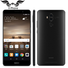 "Ursprünglicher Huawei Kamerad 9 Mate9 4G LTE Octa-core 4 GB RAM 64 GB ROM 5,9 ""HD Android 7.0 Fingerprint ID 20MP + 12MP Kamera Handy"
